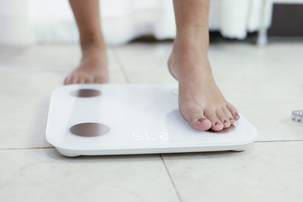 Body Fat Measurement Scale Weighing