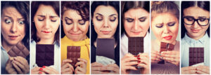 Women Craving Chocolate