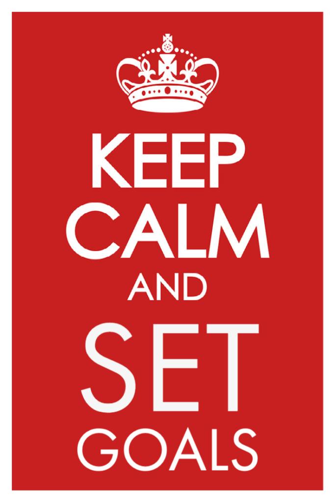 Keep Calm and Set Goals
