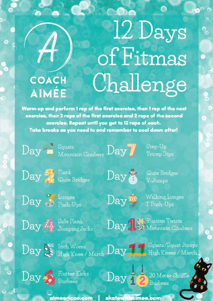 Coach Aimee 12 Days of FITMAS