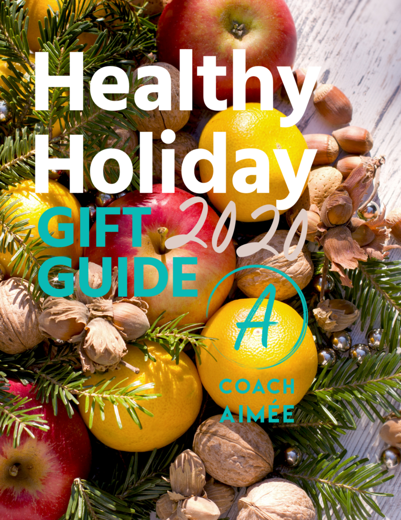 Coach Aimée Ricca Healthy Holiday Gift Guide 2020