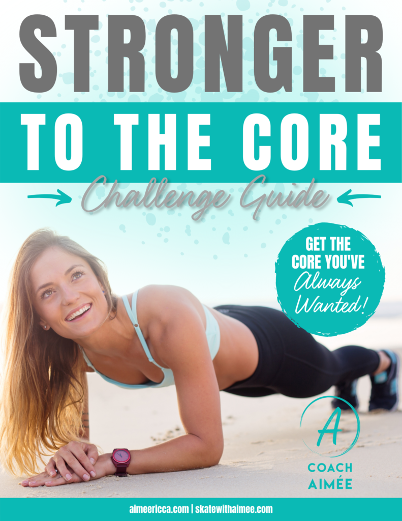 Coach Aimee Ricca Stronger to the Core Challenge